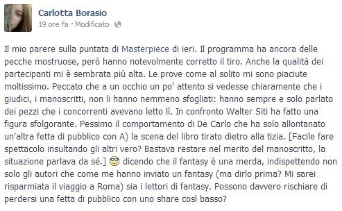 masterpiece scrittura torino facebook
