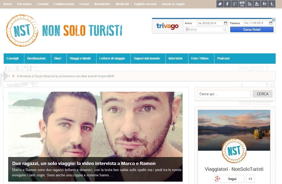 nonsoloturisti viaggi turismo torino intervista