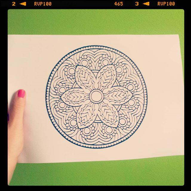 colouring books mandala